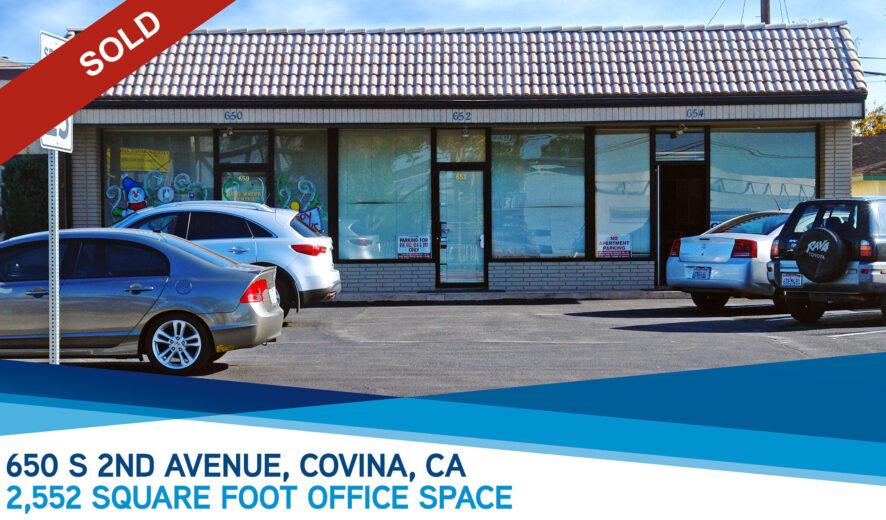 SOLD:  650 S. 2nd Avenue, Covina, CA