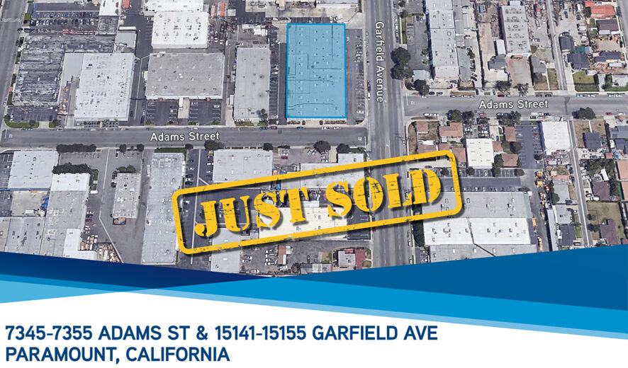 SOLD:  38,890 Total Square Foot Warehouse in Paramount, CA